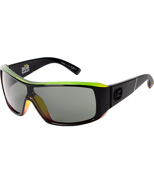 Von Zipper Comsat Black & Rasta Sunglasses