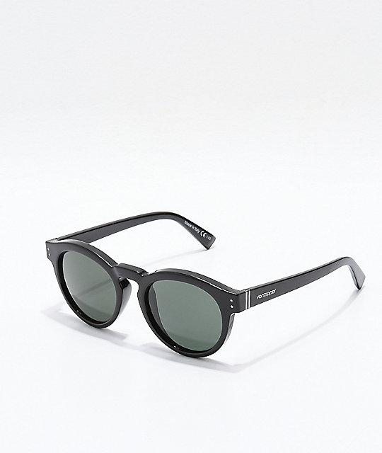 dd8b25099402 Von Zipper Ditty Black Polarized Sunglasses   Zumiez