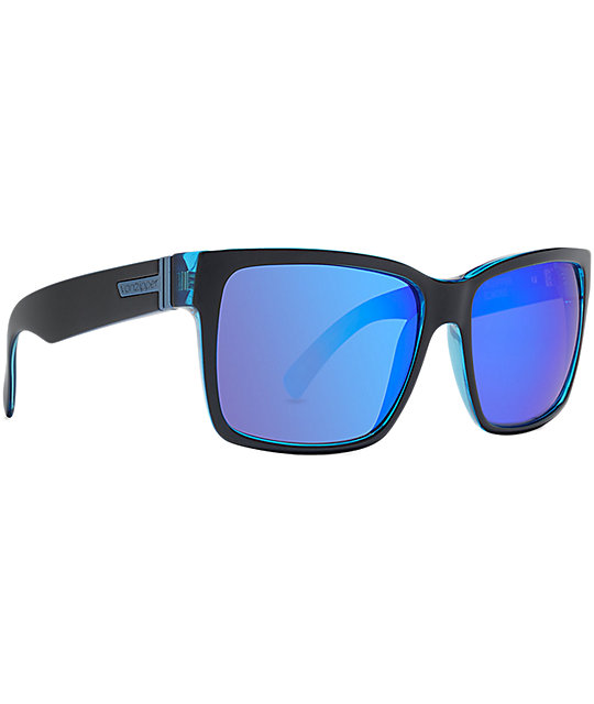 Von Zipper Elmore Smokeout & Bogglegum Blue Sunglasses