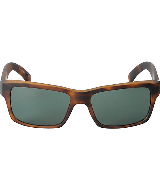 Von Zipper Fulton Tortoise Satin & Vintage Grey Sunglasses
