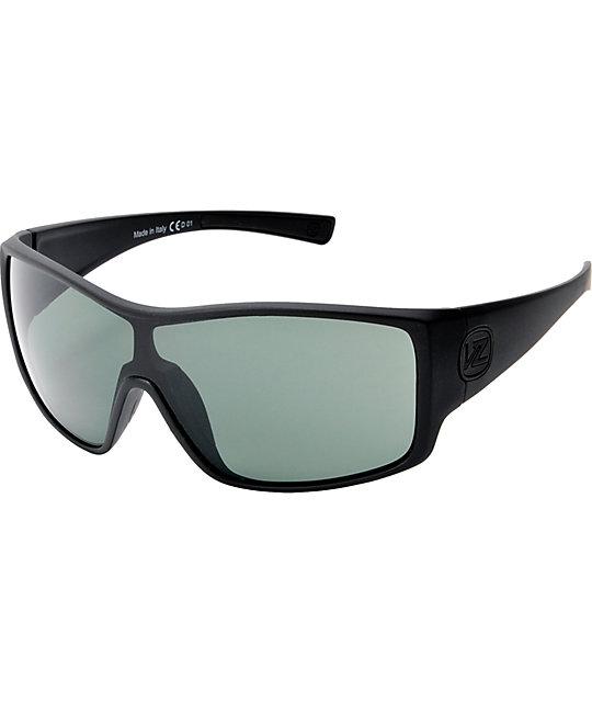 c843116d4b Von Zipper Herq Black Satin   Grey Sunglasses