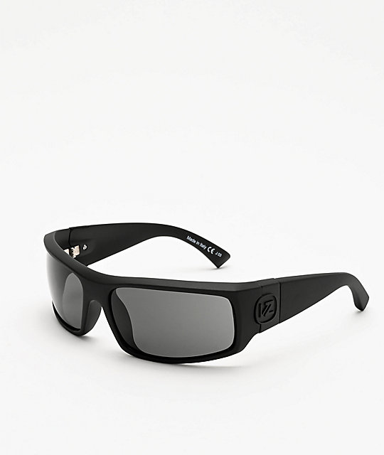 Von Zipper Kickstand Black & Satin Grey Sunglasses