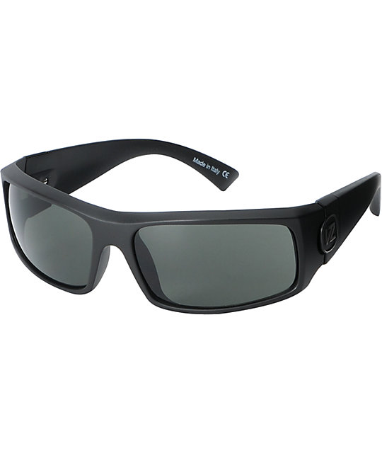 Von Zipper Kickstand Grey Satin Sunglasses