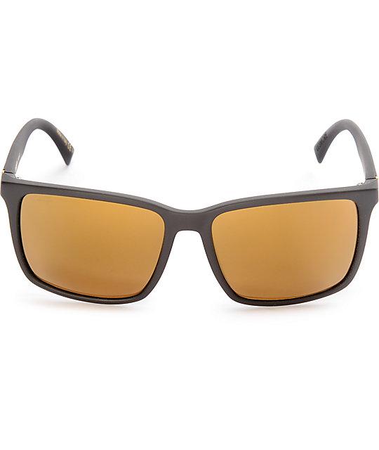 c64c90b916 ... Von Zipper Lesmore Black Satin   Gold Polarized Sunglasses ...