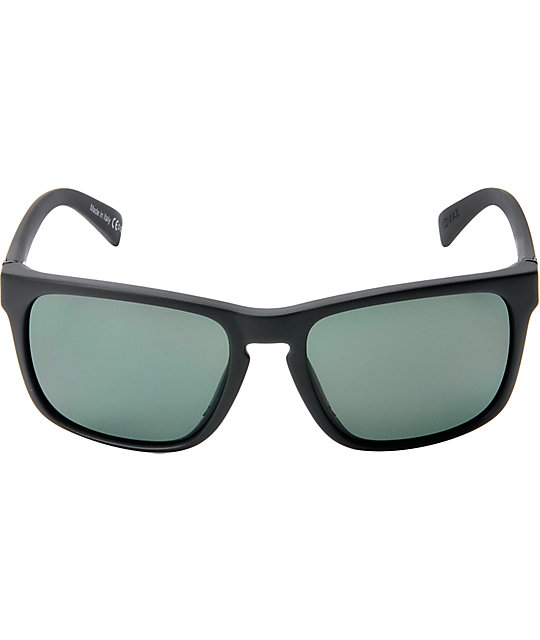 Von Zipper Lomax Black Satin & Vintage Grey Sunglasses