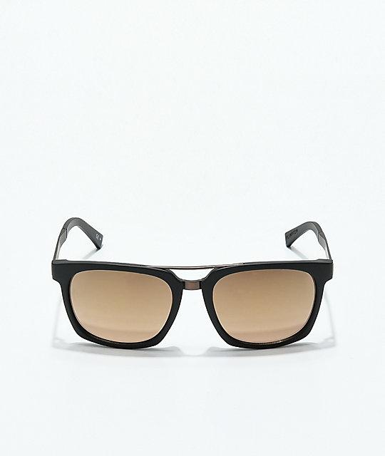 6a16f95a06c1b ... Von Zipper Plimpton Black Satin   Rust Sunglasses