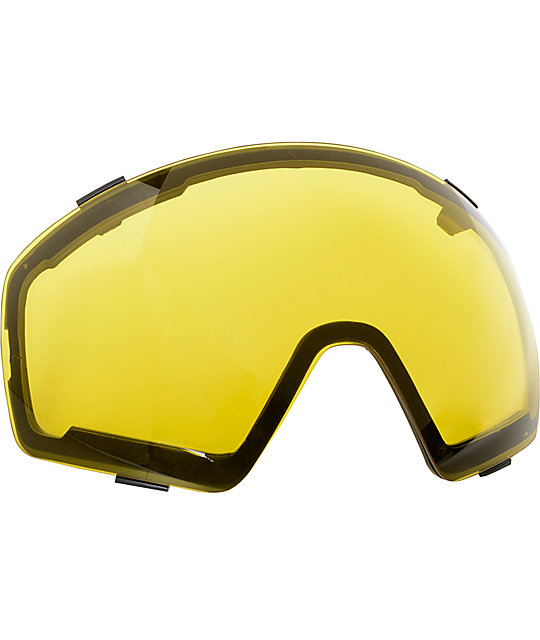 00cf44ef33c ... Von Zipper Skylab White Gloss   Gold Chrome Snowboard Goggles