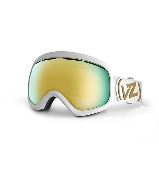 e546bbdef5f Von Zipper Skylab White Gloss Snowboard Goggle