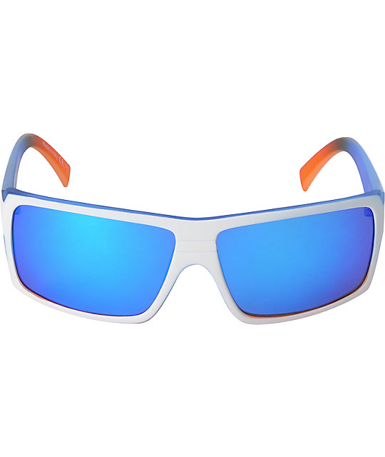 Von Zipper Snark Frosteez Astro Chrome & Vanilla Ranga Sunglasses