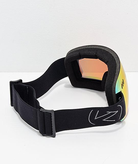 2f0dddaa9f ... VonZipper Alt XM Wildlife Black Satin Chrome Snowboard Goggles ...