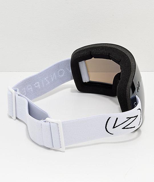 8ee332c244 ... VonZipper Alt XM Wildlife White Satin Chrome Snowboard Goggles ...