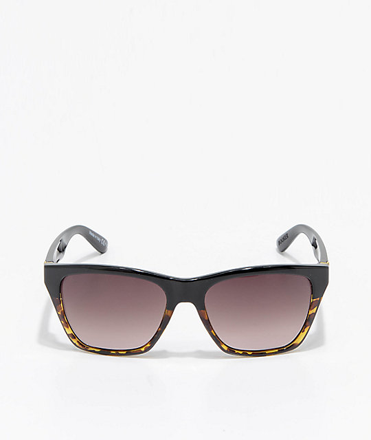 VonZipper Booker Muddled Tortoise & Black Sunglasses