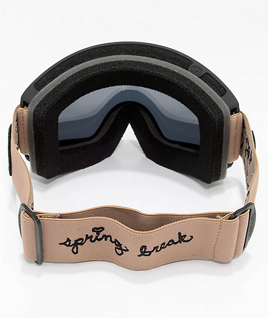 VonZipper Cleaver Spring Break Blackout Snowboard Goggles