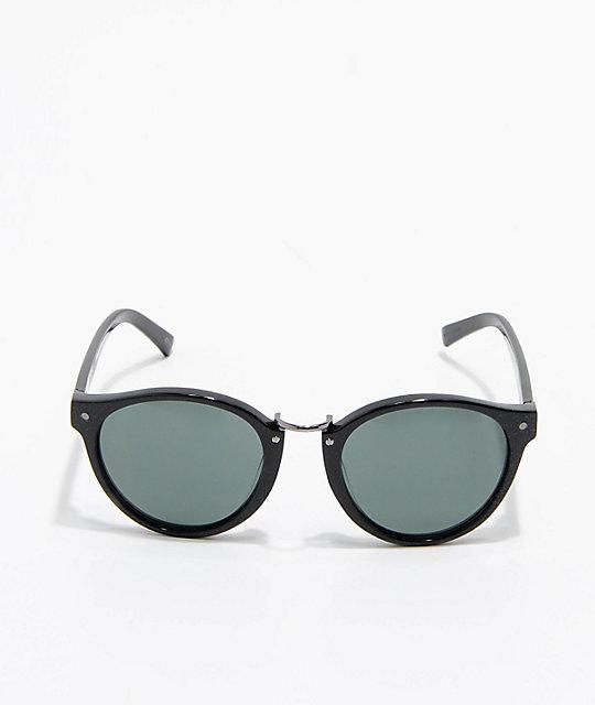 ... VonZipper F.C.G. Stax Vintage Black Gloss   Green Sunglasses 1442229c82