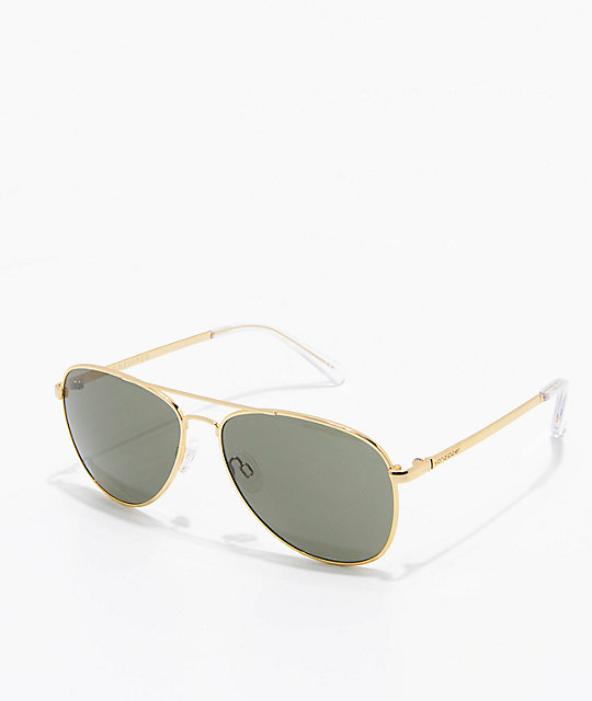 VonZipper Farva Gold & Vintage Grey Sunglasses