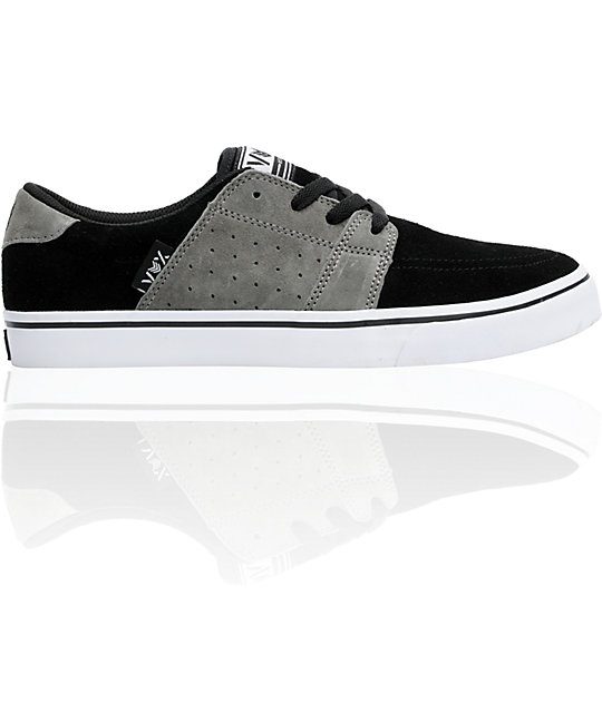 Vox Corpsey Black, Grey, & White Skate Shoes