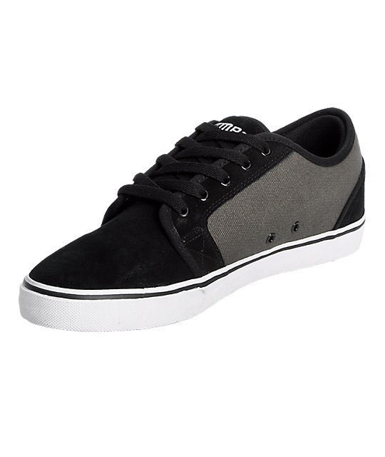 Vox Deuce Black & Grey Shoes