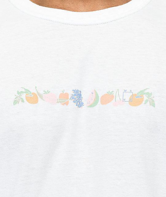 WKND Fruity Fruit camiseta blanca
