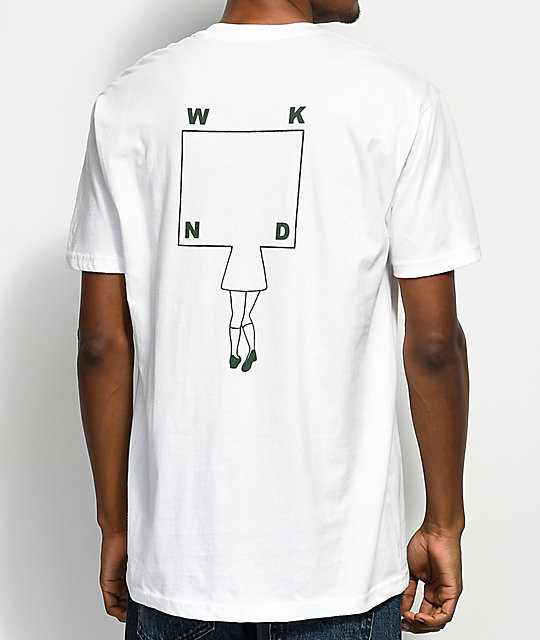 WKND School Girl White T-Shirt