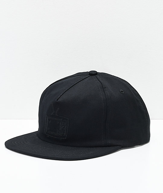 WKND TV Logo Black Snapback Hat