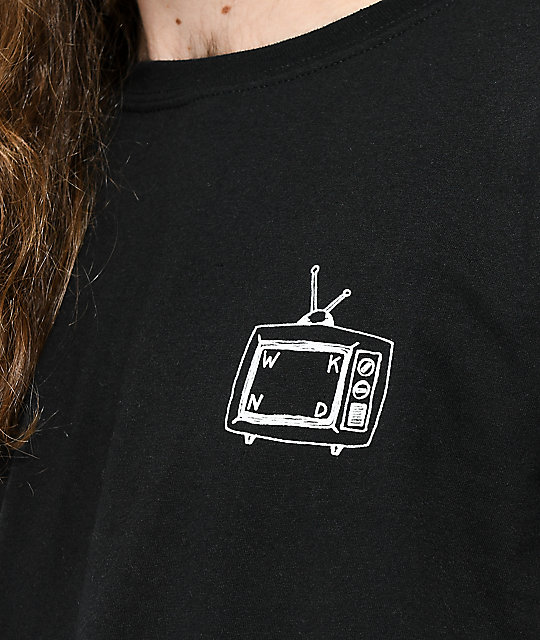 WKND TV Logo Black T-Shirt