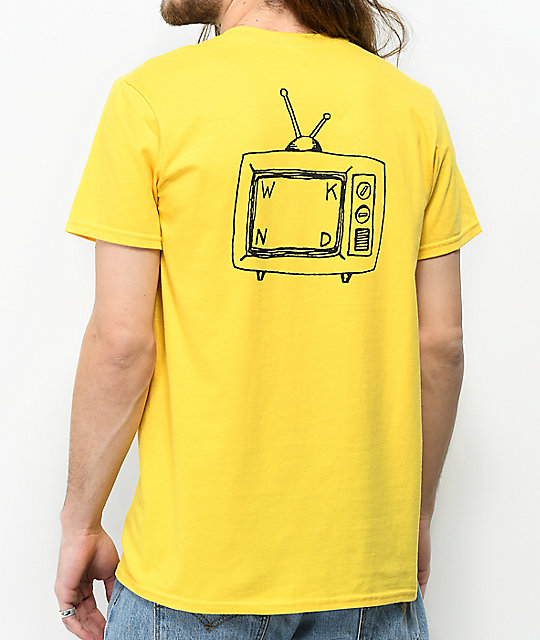 WKND TV Logo Yellow T-Shirt