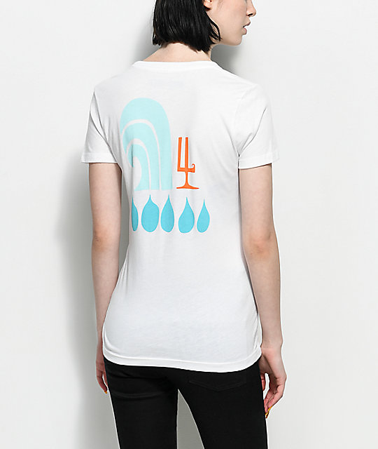 Waves For Water  Andy Davis camiseta blanca