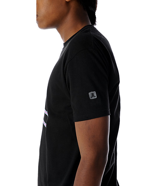 WeSC Byline Icon Black T-Shirt