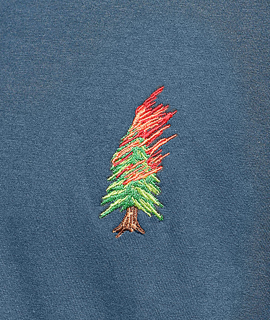 Weather MTN Burnt Navy T-Shirt
