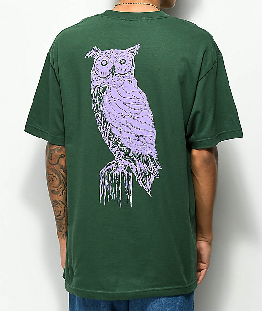 Welcome Black Beak Forest & Lavender T-Shirt
