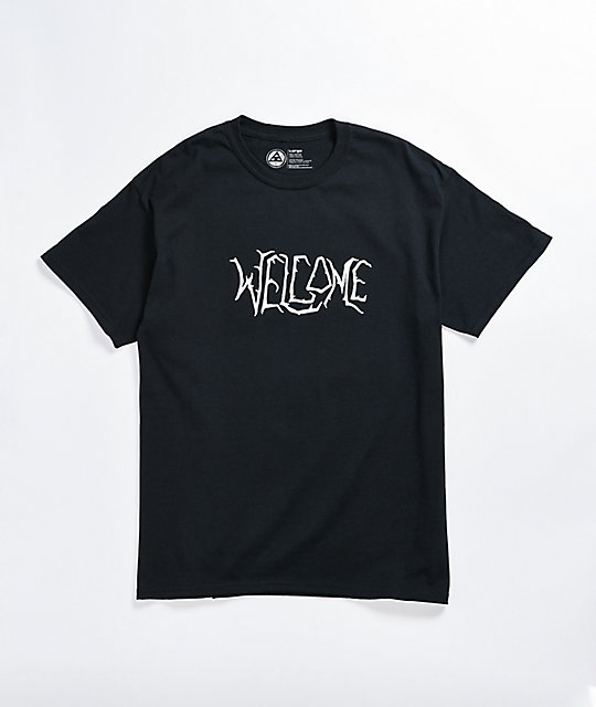 Welcome Black Lodge Black T-Shirt