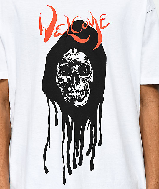Welcome Dripper camiseta blanca