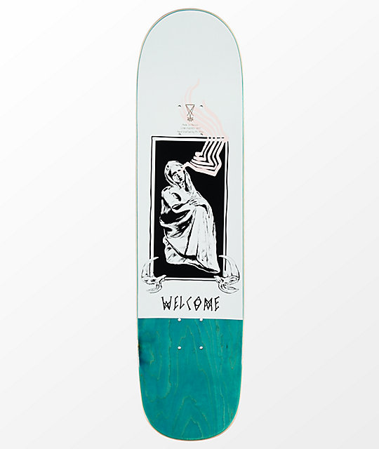 "Welcome Here It Comes On Bunyip 8.0"" Skateboard Deck"