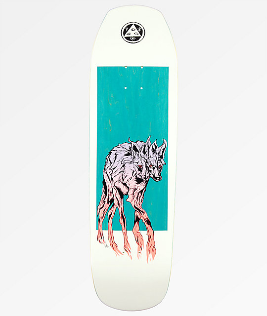 "Welcome Maned Wolf On Banshee 90 9.0"" Skateboard Deck"