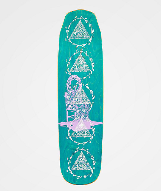 "Welcome Nora Magilda Purple & Teal 8.6"" Skateboard Deck"