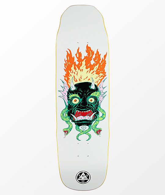 "Welcome Old Nick On Sledgehammer 9.0"" Skateboard Deck"