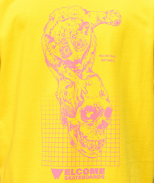 Welcome Real Hell Yellow T-Shirt