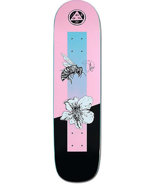 Welcome Skateboards Welcome Bunnyheads Yellow on Basilisk ... |Welcome Skateboards Bird Graphics