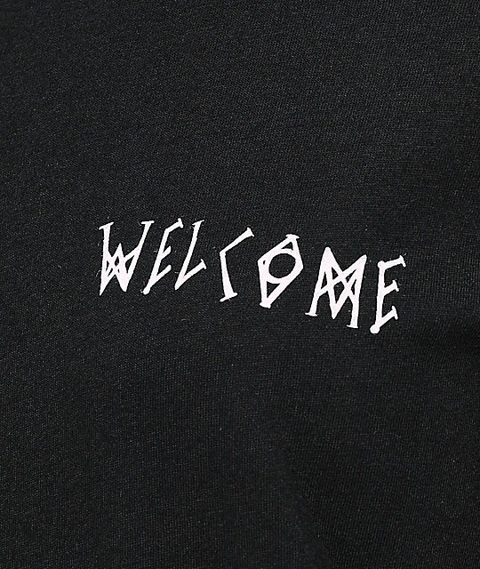 Welcome Talisman Black & Pink T-Shirt