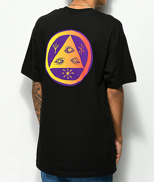 Welcome Talisman Gradient Black & Purple T-Shirt