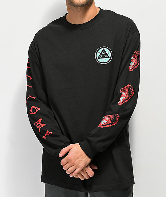 Welcome Tasmanian Black Long Sleeve T-Shirt