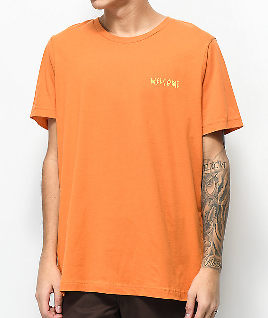 Welcome Vertigo camiseta naranja