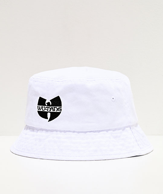 Wu-Tang White Bucket Hat