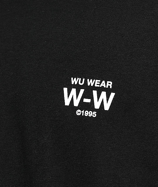 Wu Wear From The Grains Black T-Shirt