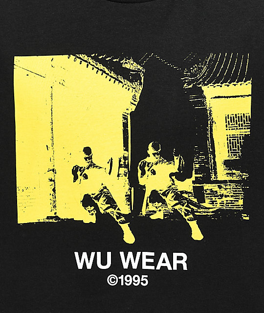 Wu Wear Monk Black T-Shirt