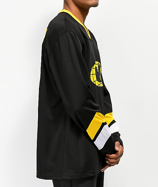 Wu Wear Shaolin Black Hockey Jersey
