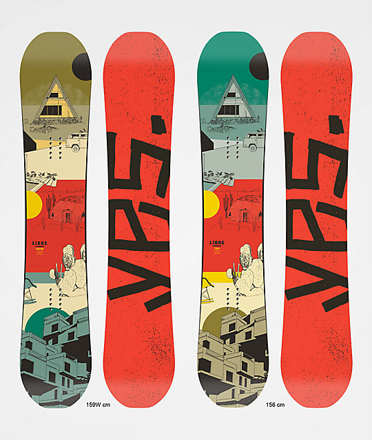 YES. The Libre Snowboard