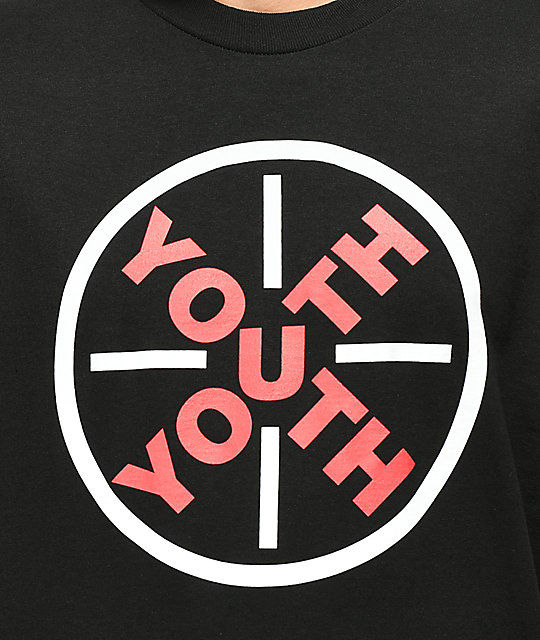 YOUTHyouth Ruler Black T-Shirt