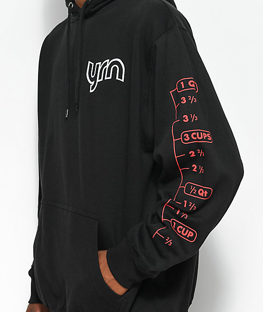 YRN 17.5 Measure Up Black Hoodie