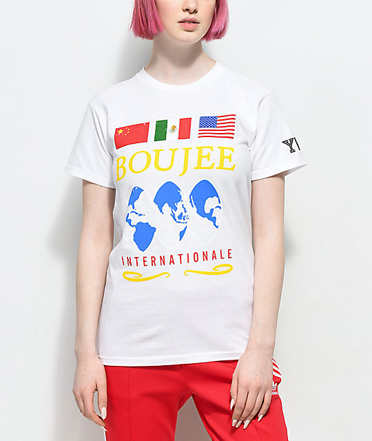 YRN Boujee International White T-Shirt